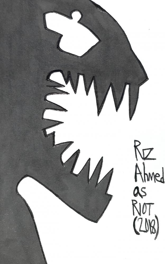 Riz Ahmed por armattock